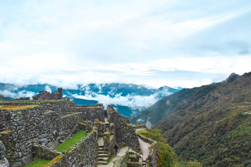Ruins Along the Inca Trail Hike