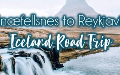 From Snæfellsnes to Reykjavik
