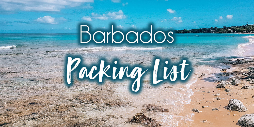 Barbados Packing List: 20 Items You Must Have