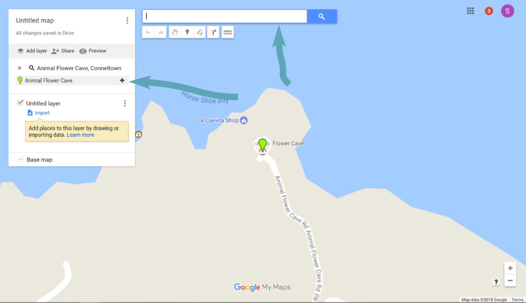 Adding A Location to Your Google Map