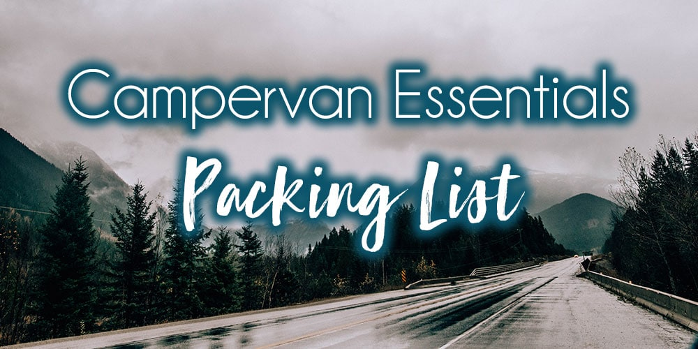 Campervan Essentials Packing List
