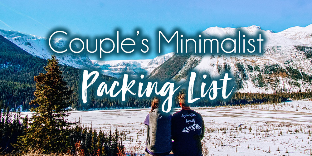 Minimalist Packing Guide for Couples: How To Pack All Your Clothes Into One 40L Backpack