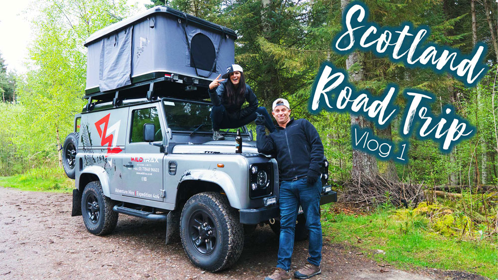 Scotland Road Trip – Preparing for Wild Camping